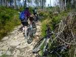 Pchamy rowery na szczyt... a nie byliśmy sami.